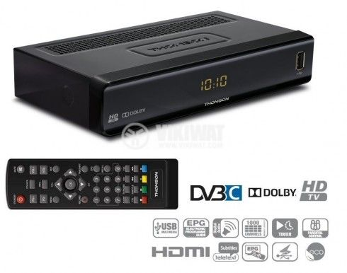 Digital HD Cable Receiver THC300 Thomson - 3