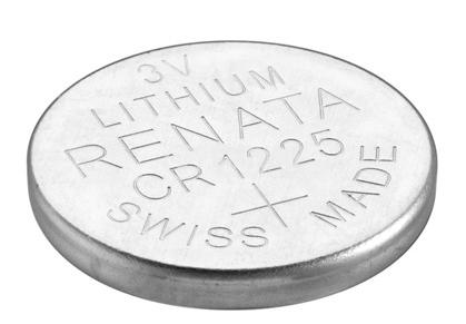 Плоска батерия CR1025, 3V, 48mAh - 1