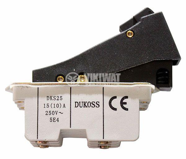 Електрически прекъсвач (ключ) за ръчни електроинструменти DKS25 15 A/250 VAC 2NO - 1