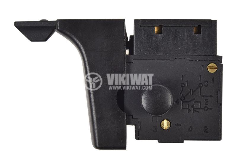 Електрически прекъсвач (ключ) FA2-4/1BEK, 4A, 250V, NO   - 4