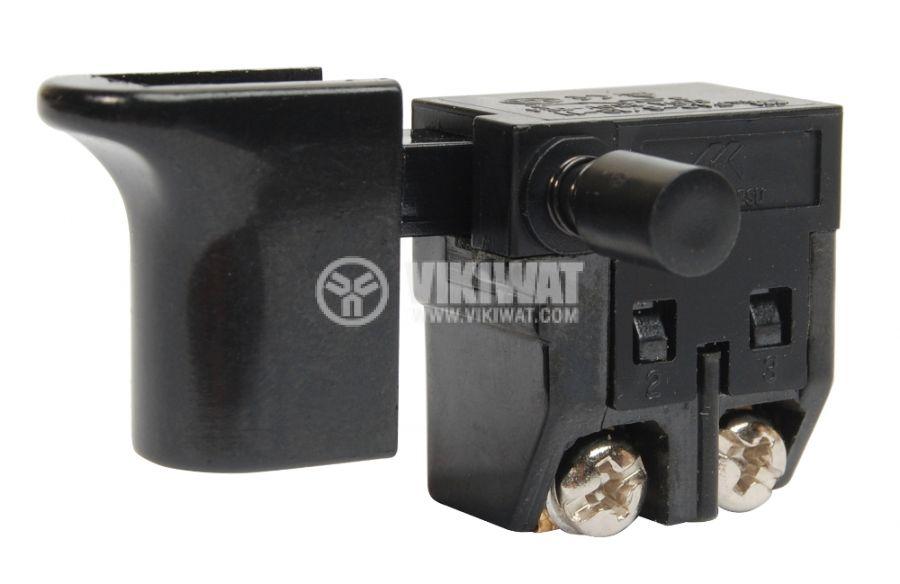 Електрически прекъсвач (ключ) за ръчни електроинструменти FA2-6/1B-11 6A/250VAC 1NO - 1