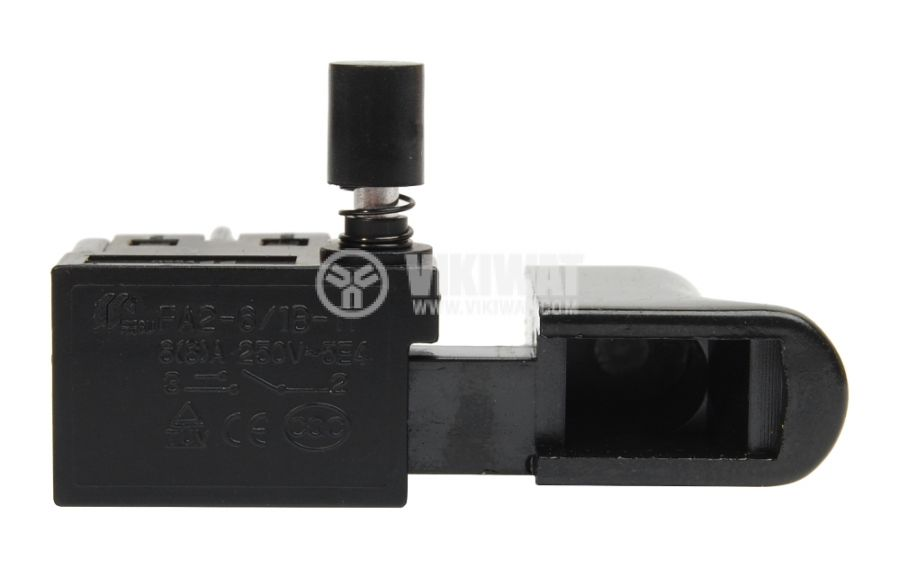 Електрически прекъсвач (ключ) за ръчни електроинструменти FA2-6/1B-11 6A/250VAC 1NO - 2