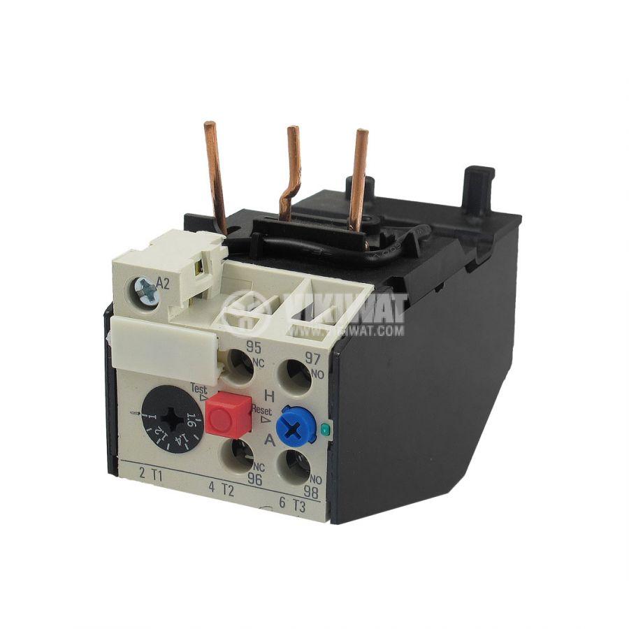 Thermal Relay Jrs2 125 Three Phase 25 4 A 2pst No Nc 10 380 Vac Wiring Diagram Motor Overload Principle