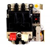 Motor protection thermal circuit breaker AT-00, three-phase, 1-1.6 A