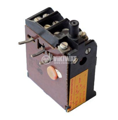 Термично реле, РТБ-0, трифазно, 0.25-0.5 A, SPDT - NO+NC, 1 A, 380 VAC - 1