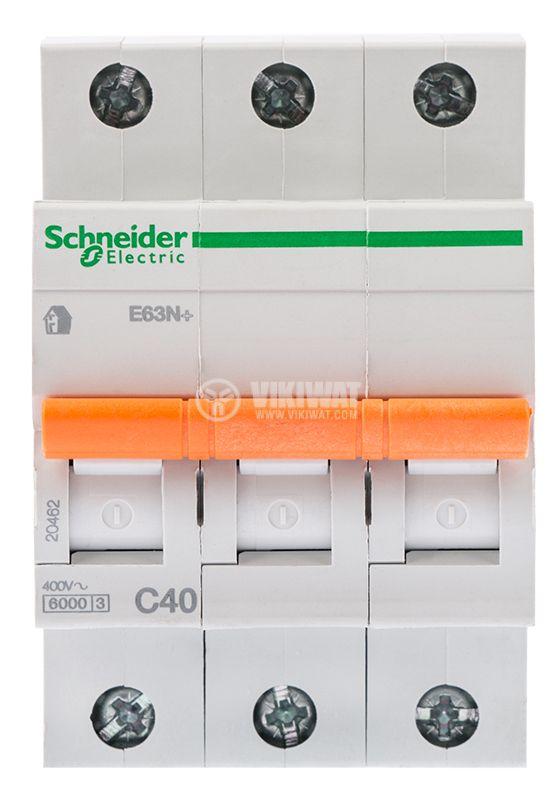 Автоматичен предпазител Schneider 3x40A - 2