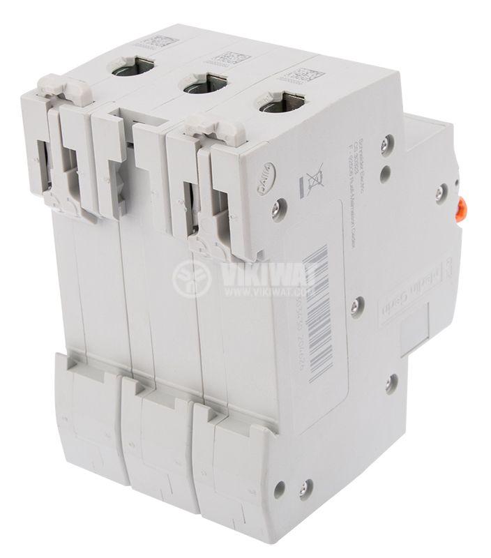 Circuit breaker three-poles 3x50A E63N BG DIN rail curve C - 3