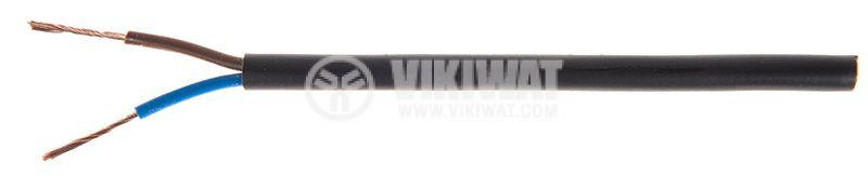 Кабел ШВПЛ-Б 2х0.5mm2   - 1