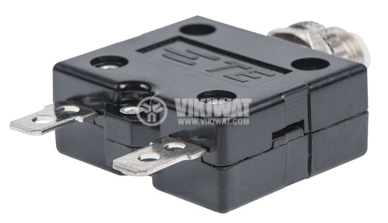 Resettable Thermal Circuit Breaker ,W54-XB1A4A10-10, 10 A , 250 VAC - 3