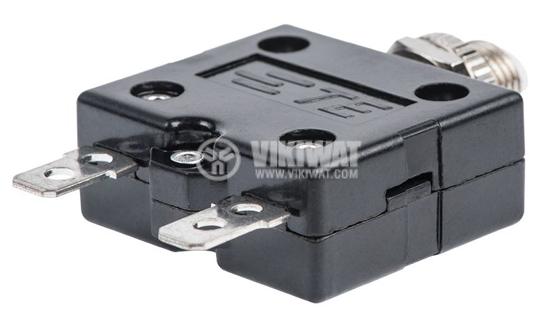 Resettable Thermal Circuit Breaker , W54-XB1A4A10-15, 15A , 250 VAC - 3
