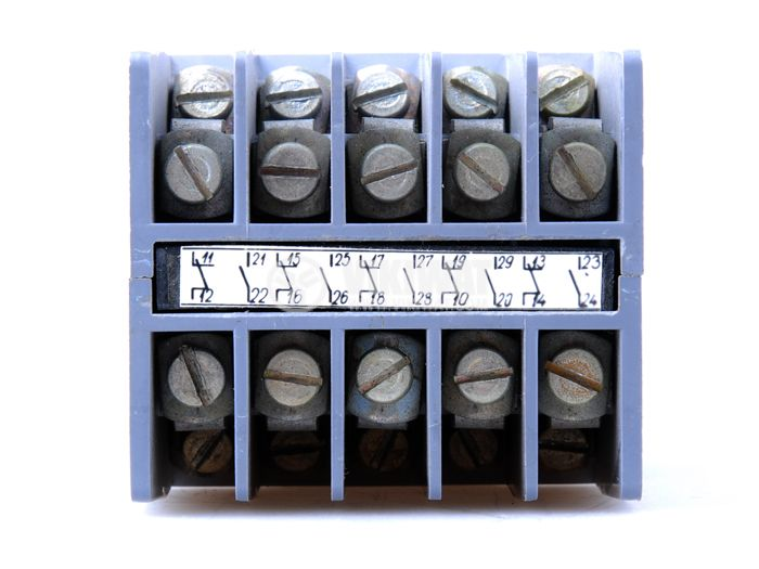 Contactor КП-1 ten-poles coil 220VAC, 5NO + 5NC 220VAC 6A, metal - 4