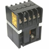 Contactor, one-pole, coil 24VAC, SPST - 1NC, 4A, КП-0