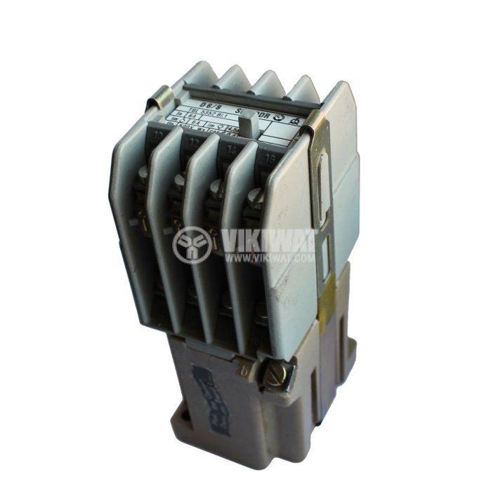 Contactor, eight-pole, coil 380VAC, 8PST - 4NO+4NC, 6A, SEO-DDR - 1