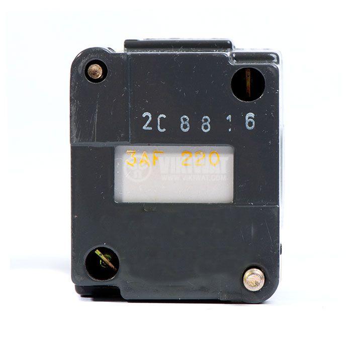 Contactor, four-pole, coil 220VАC, 4PST - 2NO+2NC, 4A, CA2-FN 122M - 2
