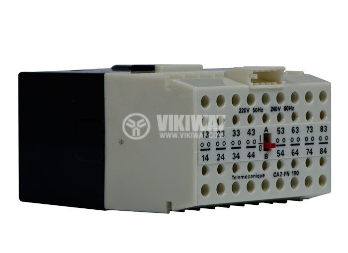 Contactor, eight-pole, coil 220VАC, 8PST - 8NO, 4A, CA2-FN180 - 1