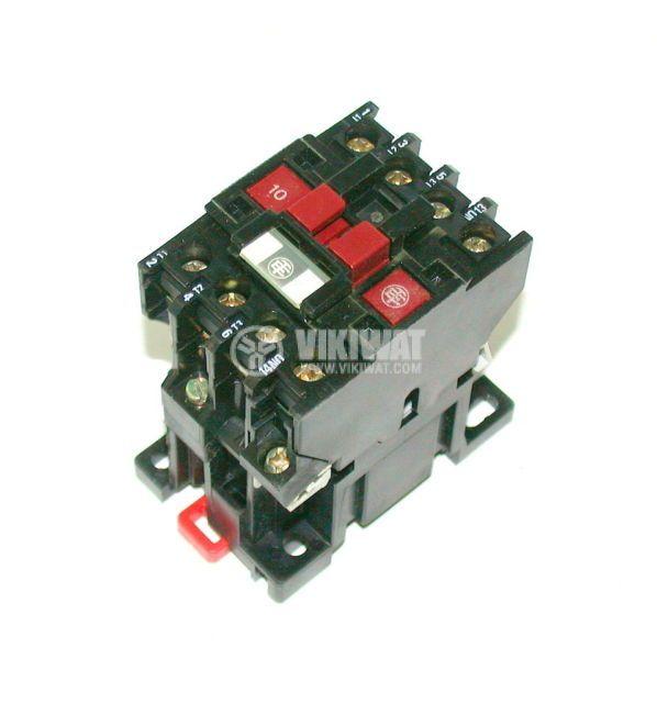 Contactor, four-pole, coil 24VАC, 4PST - 2NO+2NC, 12A, LC1-D128
