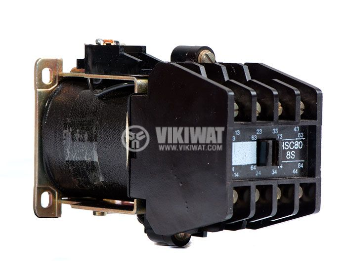 Contactor, eight-pole, coil 24VDC, 8PST - 8NO, 6A, VDE0660 - 1