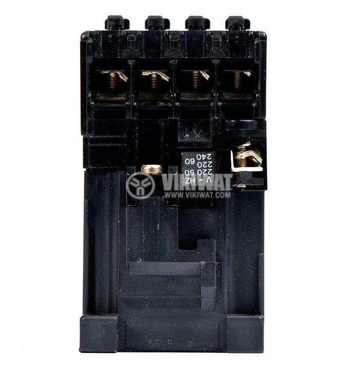 Контактор, трифазен, бобина 220VAC, 4PST - 4NO, 4A, K40E - 4