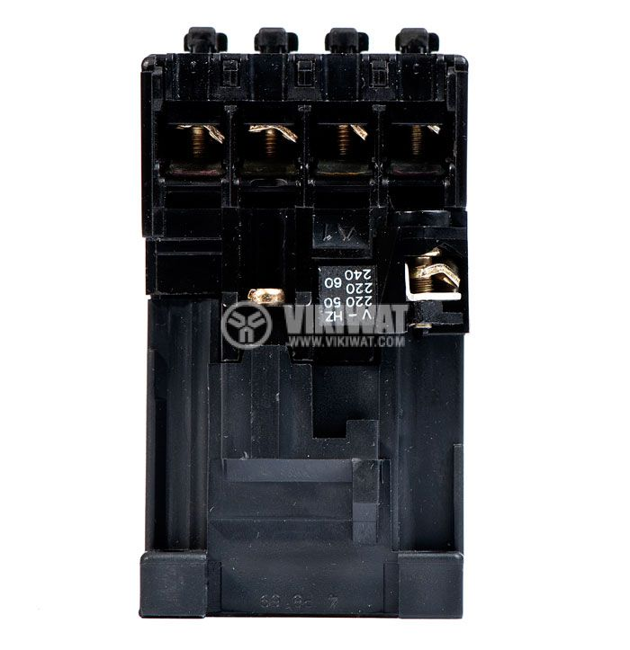 Contactor, three-phase, coil 220VAC, 4PST - 4NO, 4A, K22E - 4