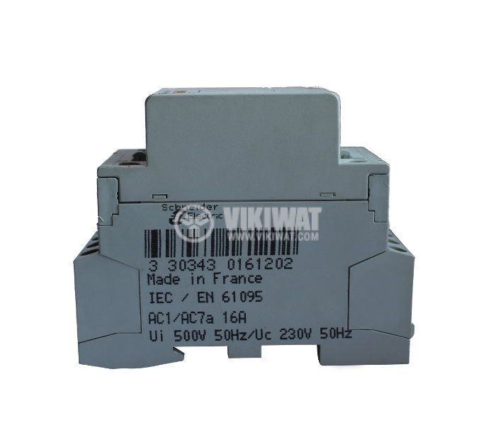 Contactor, three-pole, coil  220VAC, 3PST - 3NO, 16A, MULTI9 CT - 2