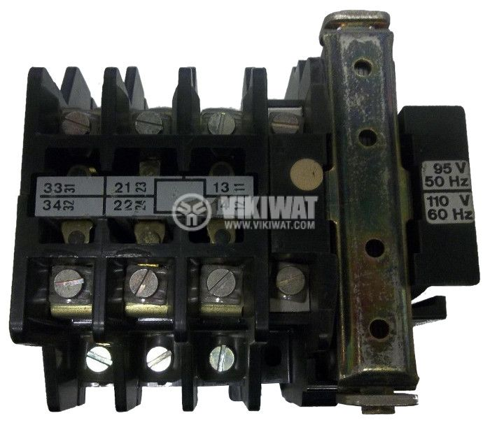 Contactor, three-phase, coil 220VAC, 3PST - 3NO, 30A, CA1-16-N, 2NO+NC - 1