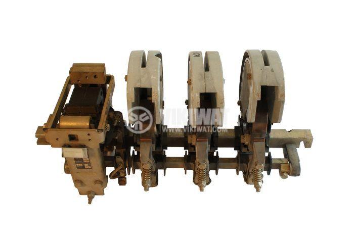Contactor, three-pole, coil  220VAC, 3PST - 3NO, 160A, ЕВ-1, NO