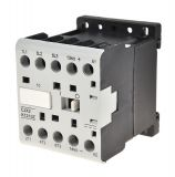 Contactor, three-phase, coil  12VDC, 3PST - 3NO, 12A, CJX2-K1210Z, NO
