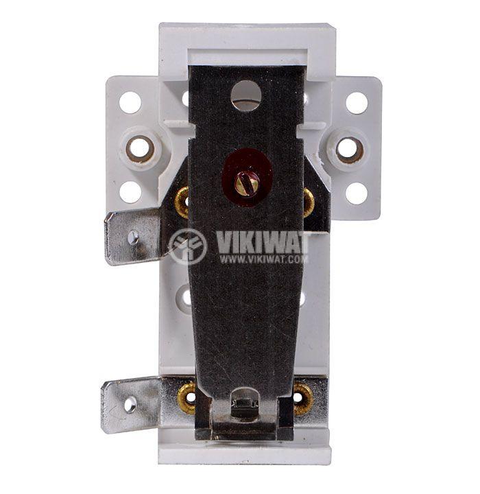 Bimetal Thermostat adjustable, KST-401, 30°C-70°C, NC, 16A/250VAC - 2
