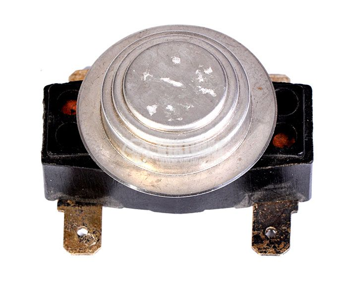 Bimetal Thermostat, double ЕСПА01А002, 35°C / 57°C, NC, 16A/250VAC - 1