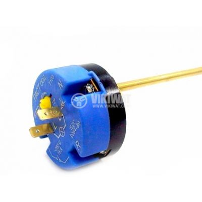 Терморегулатор, за бойлер, РАСТ, 20°C до +72°C, 2NC, 16 A / 250 VAC, осезател 265 mm - 1