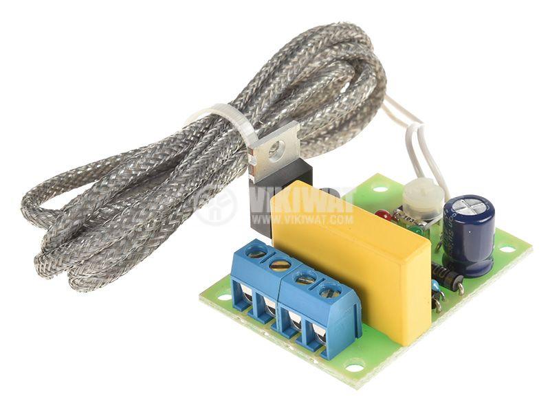 Терморегулатор +40 до +140C, 220V - 1