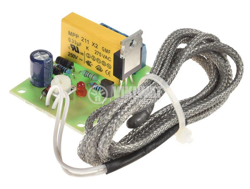 Терморегулатор +40 до +140C, 220V - 2