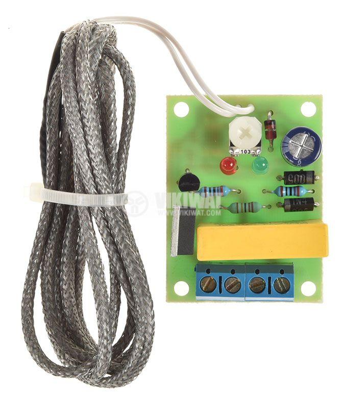 Терморегулатор +40 до +140C, 220V - 3