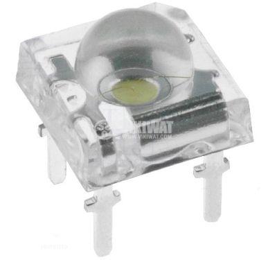 LED диод, студено бял, 133mW, 6000K, 8800mcd - 1