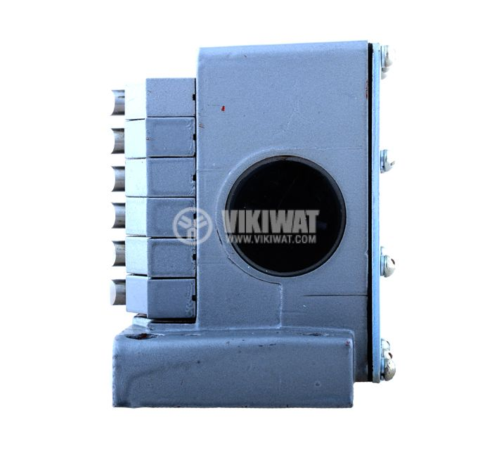 Limit road packet switch ПК-06, 12SPST-6NO+6NC, 10A/250VAC, pusher - 3