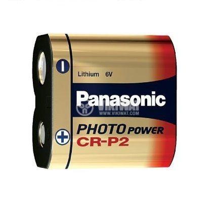 Батерия CR-P2, 6VDC, литиева