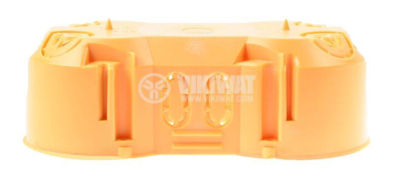 Конзола KP64/2L, двойна, за стени от гипсокартон - 2