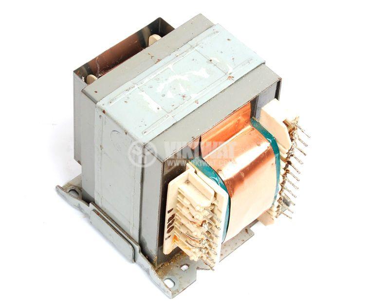 Ш - образен трансформатор 250 VA, 220 / 3 + 9 + 2 х 35 VAC - 1