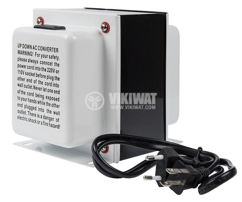 Converter, 2000W, 220VAC-110VAC, TC-2000 - 3
