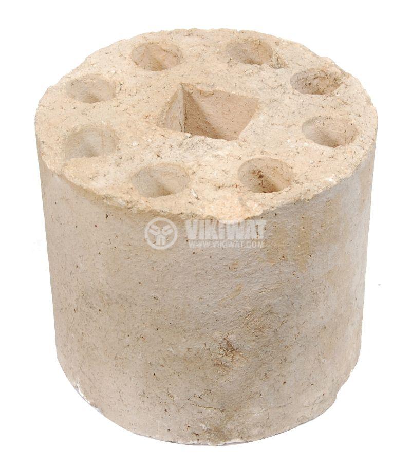Изолатор, керамичен 8 отвора