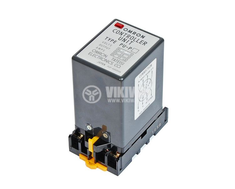 Optical Sensor Controller, PU-P 44A005B, 220 VAC, NC + NO, 8 pins  - 1