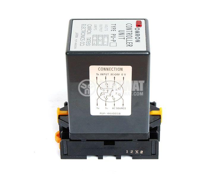 Контролер за оптичен датчик, PU-P 44А005B, 220 VAC, управление на един датчик, 8pins - 2