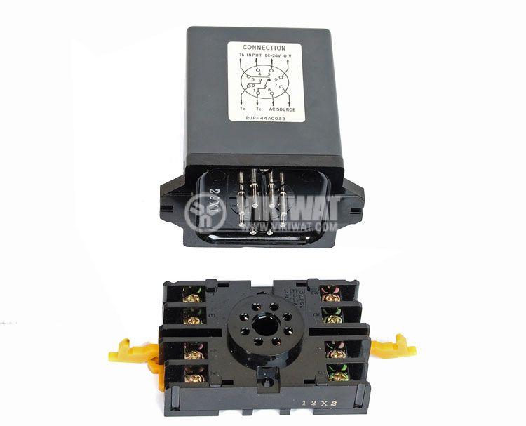 Optical Sensor Controller, PU-P 44A005B, 220 VAC, NC + NO, 8 pins  - 3