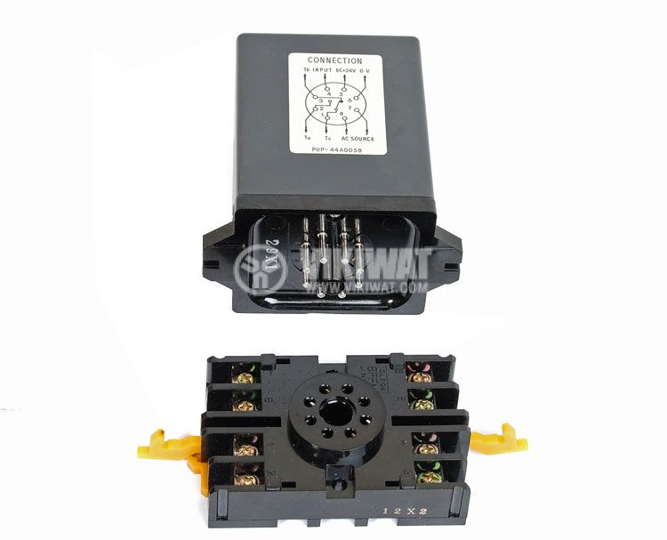 Контролер за оптичен датчик, PU-P 44А005B, 220 VAC, управление на един датчик, 8pins - 3