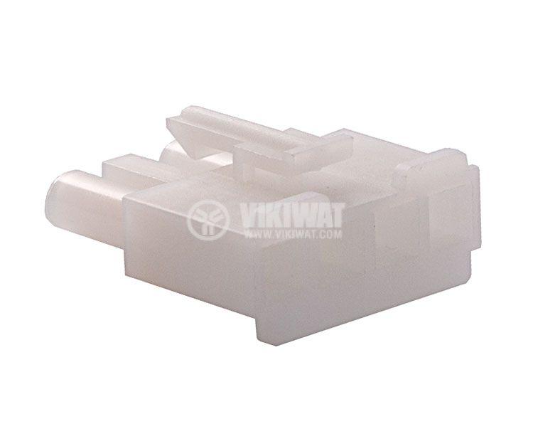 Конектор за обемен монтаж мъжки, VF67001-4R, 4 пина - 3