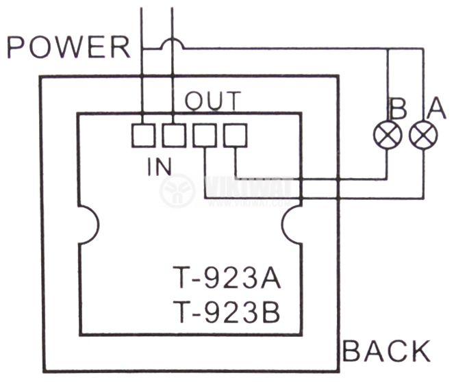 Ключ с дистанционно управление, с два канала за управление - 2