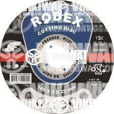 Диск за ъглошлайф - за метал 123 x 1 x 2 2mm  RODEX