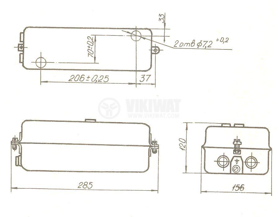 Motor Starter ТАХ 1-1.6А, 380 VAC, 1.4 A, 1-1.6 A - 2