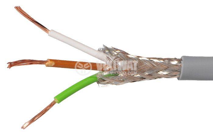 LIYCY екраниран кабел 3x0.34mm2