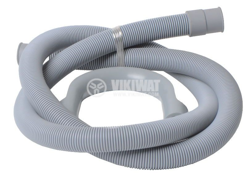 Plastic corrugated tube, Ф23 mm grey
